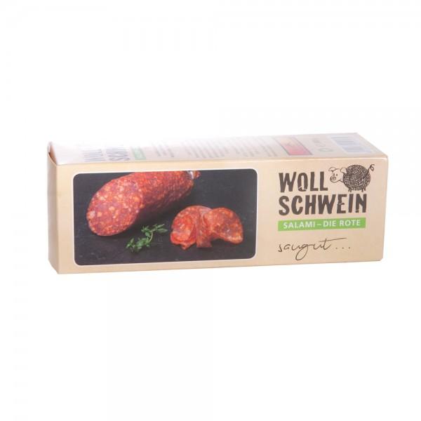 Wollschweinsalami rot