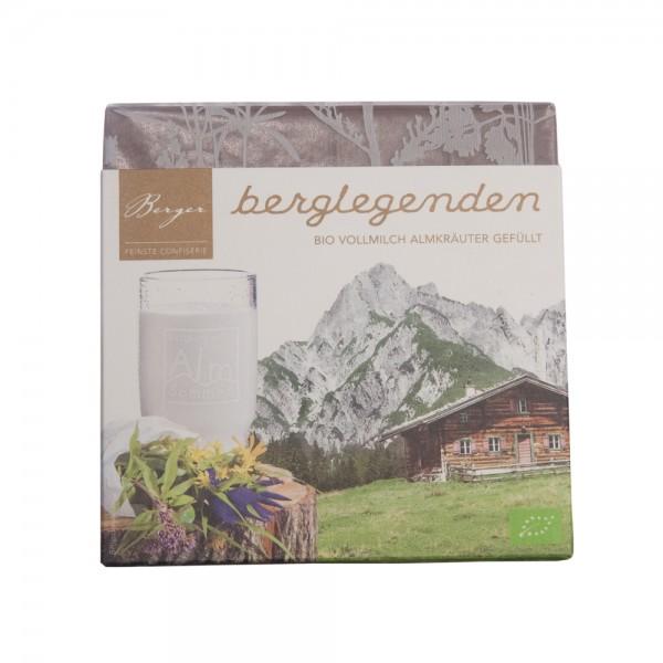 Berger Berglegenden Bio Schokolade